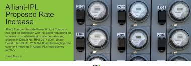 Interstate Power And Light Iowa Utilities Board