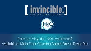 invincible waterproof vinyl plank for summer activities