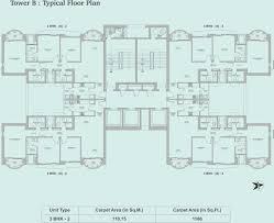 executive tower b floor plan tata aveza in mulund east mumbai price location map floor