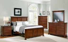 Forsyth Cherry Panel Bedroom Set By Vaughan Bassett Wonderful - Discontinued vaughan bassett bedroom furniture