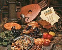 cuisine au moyen age dîner buffet au moyen age cuisine française