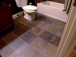 Diy Bathroom Floor Ideas - the pros and cons of slate tile diy