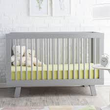 hudson convertible crib decorating lovely crib in solid white by munire crib for nursery