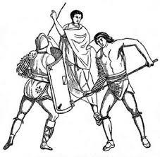gladiator training ancient rome coloring netart