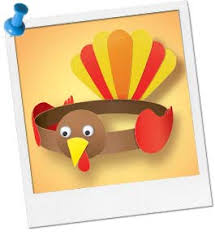 turkey headband thanksgiving crafts for kids turkey headband craft at birthday
