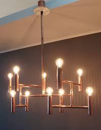 copper pipe light fixture image result for copper pipe light bar pinterest vintage