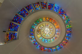 thanksgiving square chapel ceiling places of worship buildings