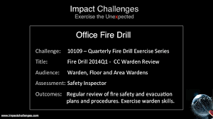 Fire Evacuation Plan Template For Office by Fire Drill Safety Training Exercise Youtube