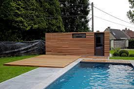 terrasse en bois suspendue yves deneyer menuiserie bois