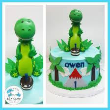 dinosaur cake owen s dinosaur cake custom cake blue sheep bake shop