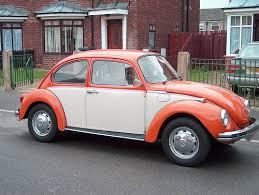orange and white vw bug motor vehicles pinterest volkswagen