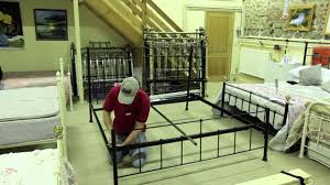 bed assembly wrought iron u0026 brass bed co youtube