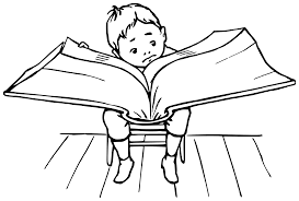 big book boy reading a big book icons png free png and icons downloads