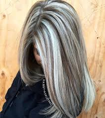 platinum hairstyles with some brown best 25 gray hair colors ideas on pinterest which is the best