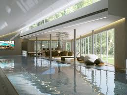 Interior Modern Swimming Pool 3d Cgtrader