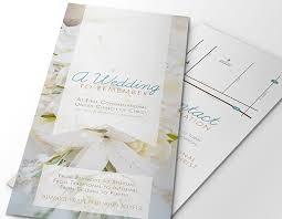 christian wedding planner wedding brochure templates wedding planner tri fold brochure