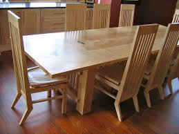 Maple Dining Room Table And Chairs Dining Room Set