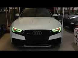 audi color changing car audi colour changing led in car