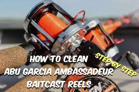 abu garcia ambassadeur 3500c how to clean abu garcia ambassadeur fishing reels