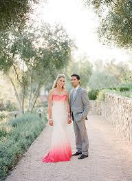 ombre wedding dress ombre styled wedding dresses trendy magazine