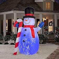 Blow Up Christmas Decorations Australia by Amazon Com Christmas Inflatable Minion Stuart U0026 Kevin Building