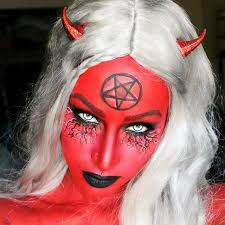 Halloween Bloody Mary Costume 25 Devil Makeup Ideas Fire Makeup