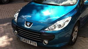 2007 peugeot 307 cc convertibe 1 6 s manual 54 k fsh 1 owner new