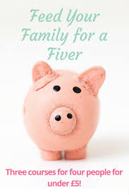 feed your family for a fiver the diary of a frugal family