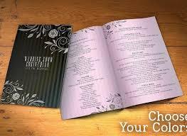 Design Wedding Programs Wedding Program Template 61 Free Word Pdf Psd Documents
