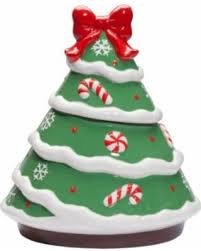 Ceramic Christmas Tree Decorations - fall sale ceramic christmas tree cookie jar