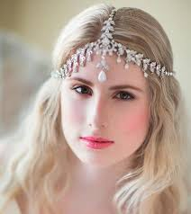 forehead bands 113 best bridal forehead bands images on hair combs