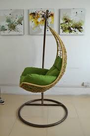 Living Room Single Swing Chair With Cushion Buy Single Swing - Single chairs living room