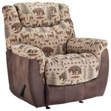 Lane Furniture North Country Rocker Recliner DeerBear Bass Pro - Bear furniture