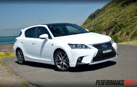lexus ct200h 2008 lexus ct 200h f sport review video performancedrive