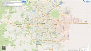 State Map Of Colorado by Aurora Colorado Map