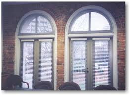 Wood Blinds For Arched Windows Blind Alley Specialty Window Treatments Portfolio