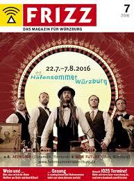 Wohnzimmer W Zburg Adresse Frizz Das Magazin Für Würzburg Juli 2016 By Frizz Das Magazin