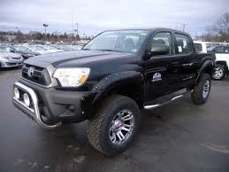 toyota tacoma altitude package lifted truck rocky ridge trucks