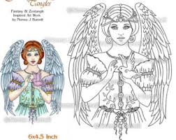view printable digi stamps by fairytangleart on etsy