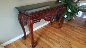 Marble Top Entryway Table Charming Farmhouse Sale In Long Lake Mn Starts On 11 18 2017