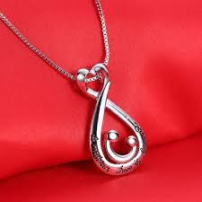 s day pendants s day pendant necklace heart choker women silver