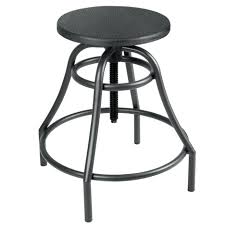 Industrial Bar Stool With Back Bar Stools View Larger Industrial Metal Swivel Bar Stools