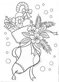christmas candles coloring pages coloring