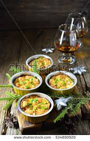 proportion cuisine appetizer baked proportion on wooden stock photo 534890920