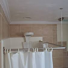 L Shaped Shower Curtain Rod Oil Rubbed Bronze Corner Shower Rod L Shaped Shower Curtain Rods Shower Accessories