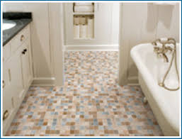 bathroom flooring different types of flooring for bathrooms