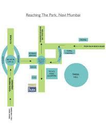 location map the park hotel navi mumbai