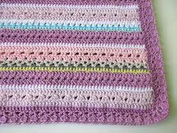 Mixed Patterns by Fantasy Crochet Baby Blanket Pattern U201cpretty Pastel U201dbaby Blanket