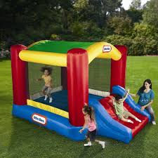 inflatable bounce house water slide blast zone rainforest kid