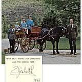 royal family christmas cards popsugar celebrity